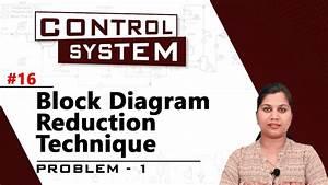 Block Diagram Reduction Technique - Problem 1