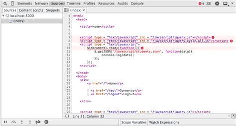 Html Flask Application How Link Javascript File
