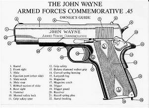 John Wayne Armed Forces Commemorative  45 Plaque