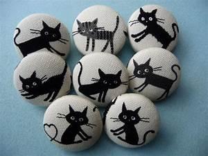 Steine Bemalen Katze : u pick 4 kawaii japanese cats kittens handmade fabric covered buttons 1 1 8 inches gift under 10 ~ Watch28wear.com Haus und Dekorationen