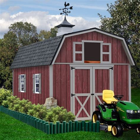 10x12 Metal Shed Kits by Wooden Sheds 10 X 12 Slp