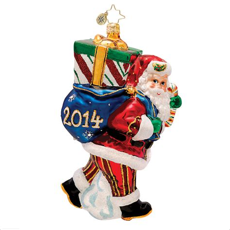 christopher radko perfect timing nick 2014 christmas ornament