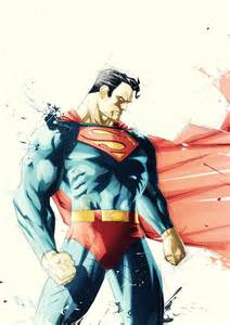 Justice League Superman Comic Art