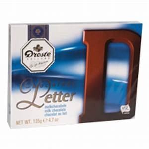 droste large milk chocolate letter d from http www With dutch chocolate letters droste
