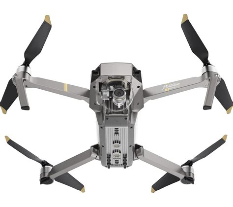 buy dji mavic pro platinum drone  controller silver  delivery currys