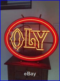 olympia beer oly vintage neon beer sign vintage neon sign