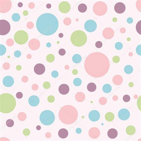 Fondo de bebé con círculos de colores Vector de stock