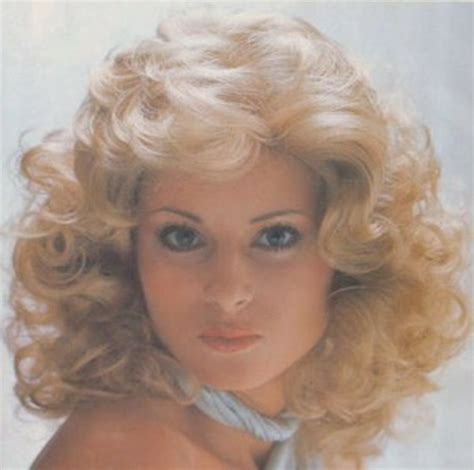 70s Curly Hairstyles by 70s Disco Hairstyles