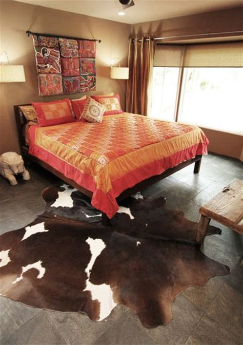 cowhide rugs    ways      interior