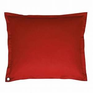 Coussin De Sol : coussin de sol rouge soft soft maisons du monde ~ Teatrodelosmanantiales.com Idées de Décoration