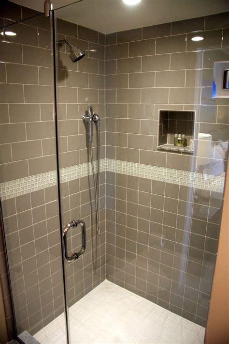 taupe  cream bathroom shower tile shower tile