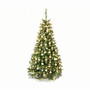 Künstlicher Weihnachtsbaum Geschmückt : weihnachtsbaum goldig geschm ckt inkl lichterkette ~ Yasmunasinghe.com Haus und Dekorationen