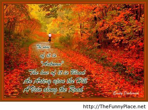 Inspirational Quotes For Fall Season Quotesgram
