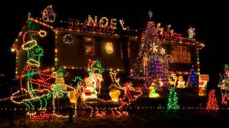 Outdoor Laser Holiday Lights