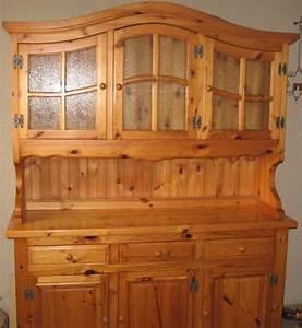 Vaisselier En Pin : vaisselier pin massif ~ Teatrodelosmanantiales.com Idées de Décoration