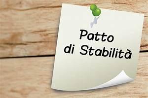 Patto Di Stabilit U00e0  Obiettivi Programmatici E Chiarimenti