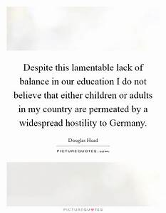 Balance In Educ... Balanced Education Quotes