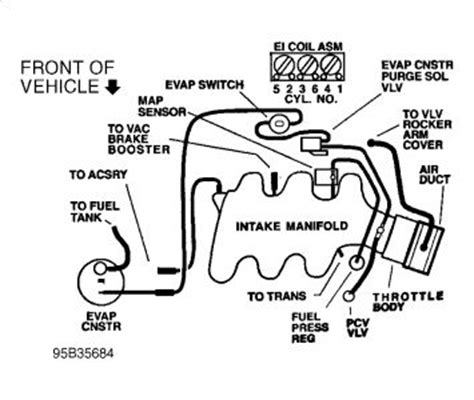2006 Chevy V6 Engine Vacuum Diagram by 1999 Chevy Venture Vacuum Lines Where Can I Find A