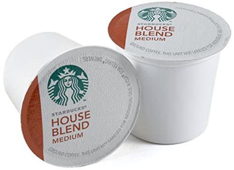 Starbucks House Blend Medium Roast Coffee Keurig