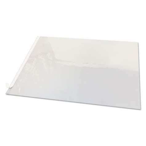second sight clear plastic desk protector 36 x 20 srp