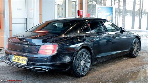 the 3rd gen all new bentley flying spur team bhp