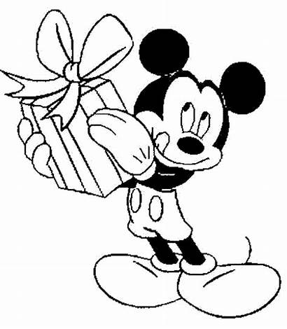 Mickey Mouse Coloring Through Birthday Learning Drawing