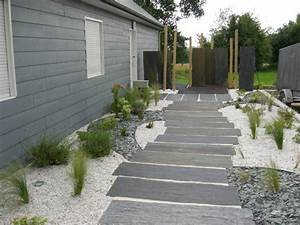 deco jardin pas japonais With nice modele de jardin paysager 14 pas japonais