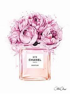 Coco Chanel Bilder : cristina alonso peonies a coco chanel 5 parfum fashion illustration chanel ~ Cokemachineaccidents.com Haus und Dekorationen
