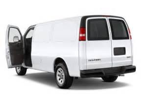Image  2010 Gmc Savana Cargo Van Rwd 1500 135 U0026quot  Open Doors