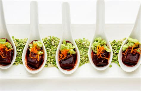 canapes on spoons recipes wedding inspiration bliss weddings boston