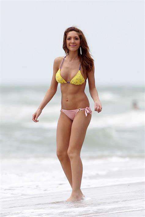 farrah abraham   yellow bikini  gotceleb