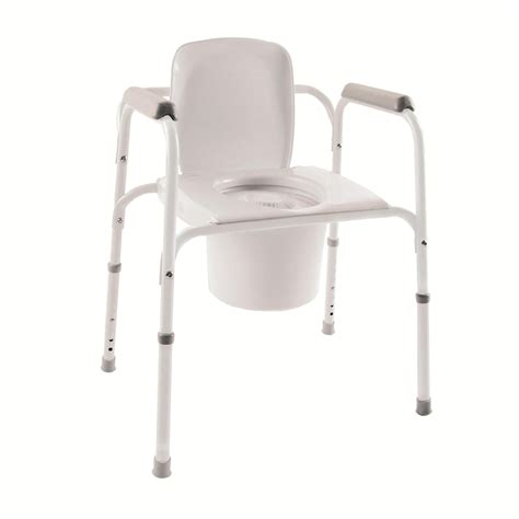 chaise de invacare folding commode potomac supplies inc