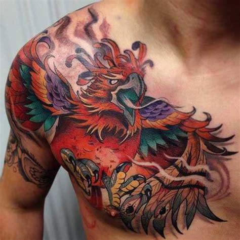 chest tattoos  men cool ideas designs