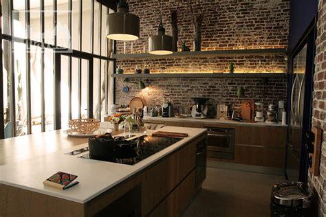 luminaires de cuisine loft avec patio clav0024 agence mayday repérage de