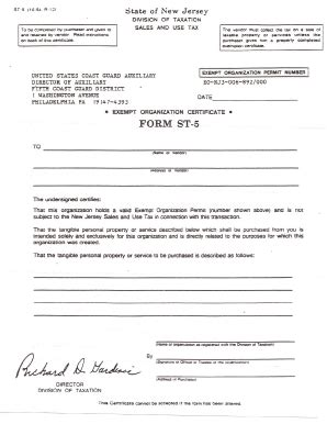 fillable form st 3 state of new jersey fax email