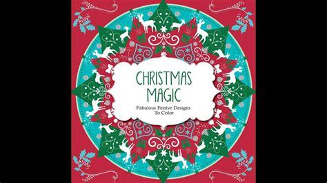 flip  christmas magic coloring book youtube