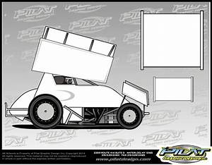 comfortable sprint car graphics template gallery example With vehicle lettering templates