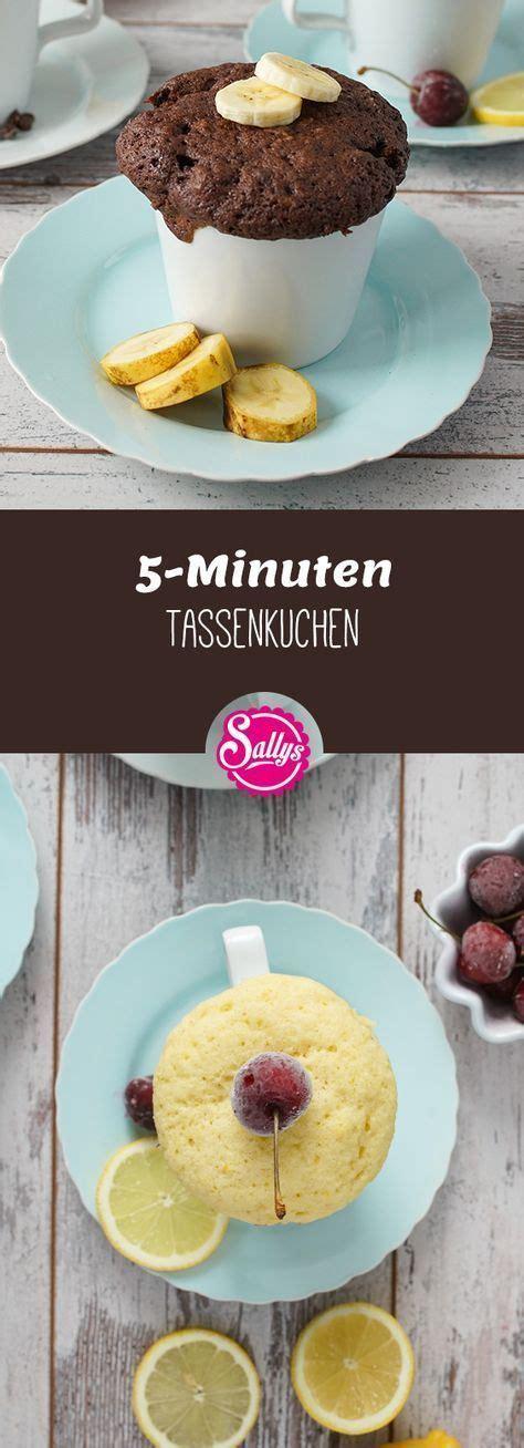 leckere  minuten tassenkuchen fuer das schnelle verlangen