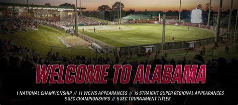 Rhoads Stadium Alabama Softball