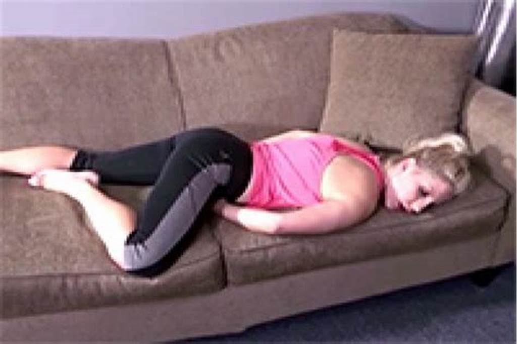 #Sleeping #Blonde #Mom #Gets #Her #Great #Ass #Stripped #And
