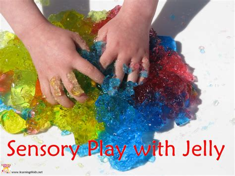 sensory play with jelly learning 4 602 | Sensory PLay with Jelly