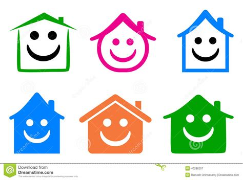 Happy Home Köln by Happy Home Stock Vector Illustration Of Concept Happy