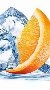 Wallpaper orange, ice, water, Food #810