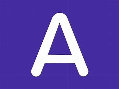 Animated Dribbble Letter Drake Animation Typeface Single