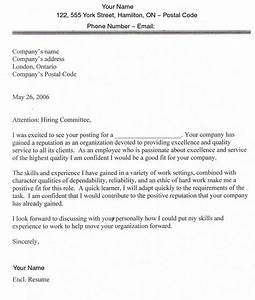 job search in usa and canada With cover letter sample for job application