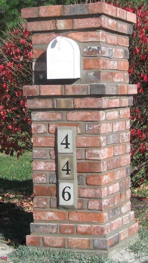 quality mailboxes mail box pinterest brick mailbox
