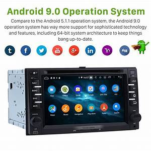 Android 9 0 Car Dvd Player Radio Gps Navigation System For