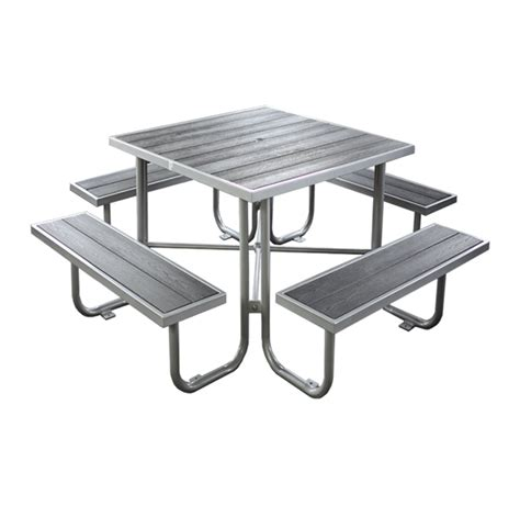 Wood Plastic Composite Picnic Table Cat 200n Canaan