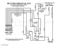 Here Hunter Original Fan Wiring Diagram Vintage
