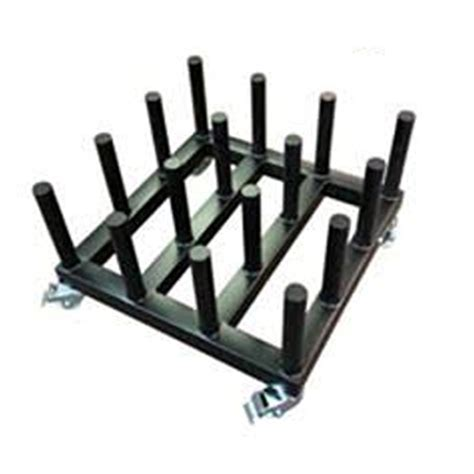 Rolling Floor Rack for Vinyl Roll Storage   Heavy Duty